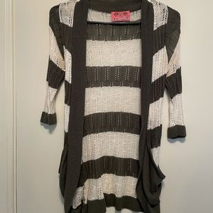 Sweet and Sinful 3/4 Sleeve Cardigan